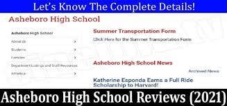 Asheboro High School Reviews